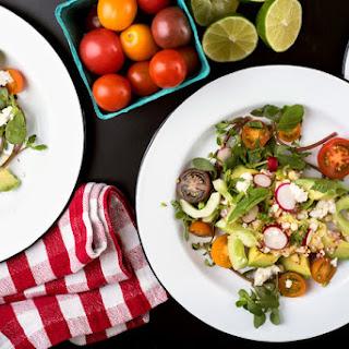 Corn, Avocado and Cucumber Salad