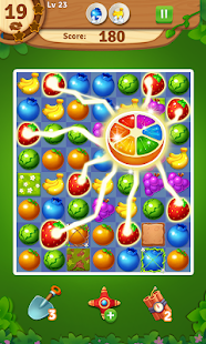 Juice Fruity Splash - Puzzle Game & Match 3 Games Screenshot