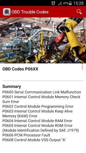 OBD car doctor 2016 screenshot