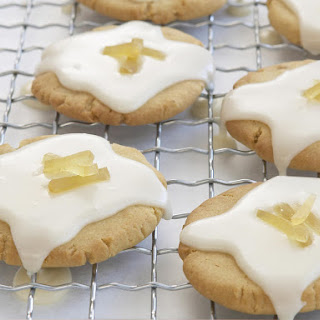 Glazed Ginger Cookies.