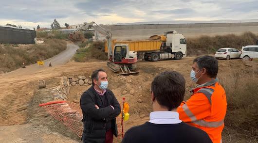 Las obras de mejora de caminos rurales en Cortijos de Abajo van a finalizar
