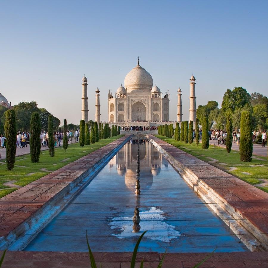 Taj Mahal by Richard Krchnak - Landscapes Travel