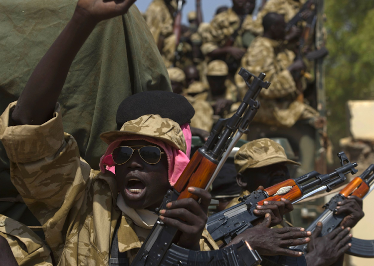 Soldiers in Juba. Picture: REUTERS