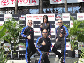 Photo: yeah!! Start team jump in Long Beach Grand Prix. The older Man on the right, he had his own business, he retire the business and jump for living.