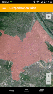 Kurzparkzonen Wien - náhled