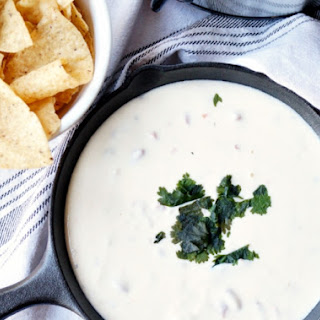5-Ingredient White Queso Dip.
