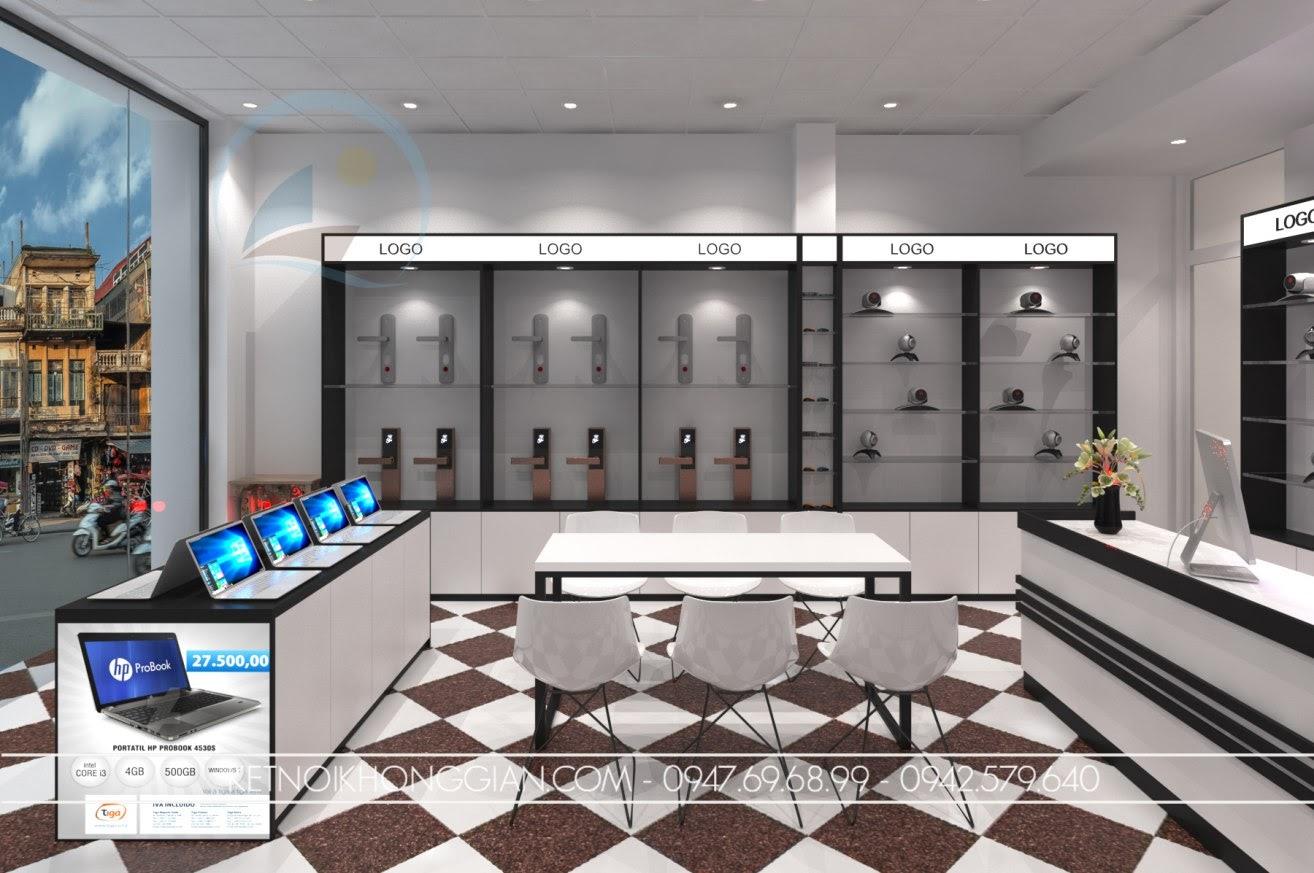 thiết kế cửa hàng đồ điện tử 4