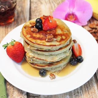 Healthy Banana Pancakes.