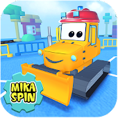 Bulldozer driving game for kid