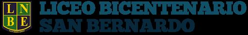 Logotipo - Liceo Bicentenario de San Bernardo