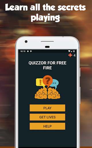 Quizzor for Free Fire   Questions and Answers 1.2 screenshots 1