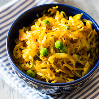 Indian Fried Cabbage.