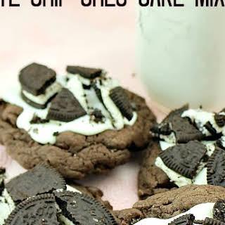Chocolate Chip Oreo Cake Mix Cookies.