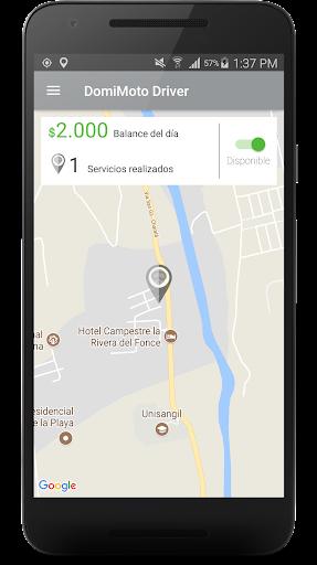 DomiMoto Driver 1.0.0.0.1.8 screenshots 2