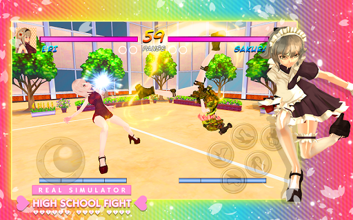 High School Girl Real Battle Simulator Fight Life painmod.com screenshots 8