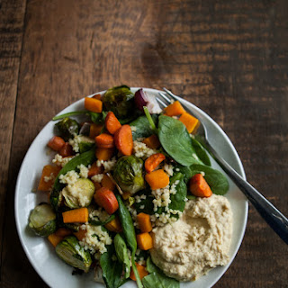 Roasted Winter Vegetable and Millet Salad