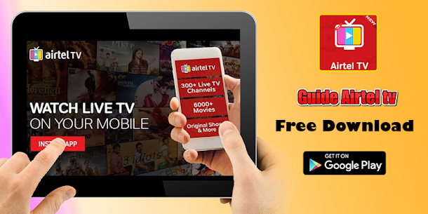 Guide Airtel Tv: xstream TV live channels & movies App Latest Version  Download For Android 3