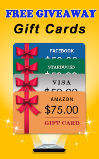 Free Giveaways: Gift Cards & Gifts App for FREE- screenshot thumbnail
