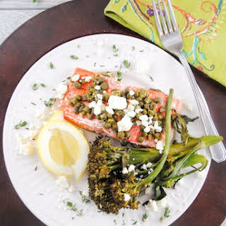 Baked Salmon With Feta Cheese Recipes.