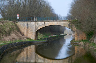 Photo: For +BridgesOverTuesday today I have this bridge over the Canal de Bourgogne (France), a 242 kilometers long canal that links the river Yonne, a tributary of the river Seine, with the Saône.  #bridgesovertuesday  is being curated by +Steve Boyko  and +Clare Bambers.  #bridgesaroundtheworld   #bridgesovertuesday