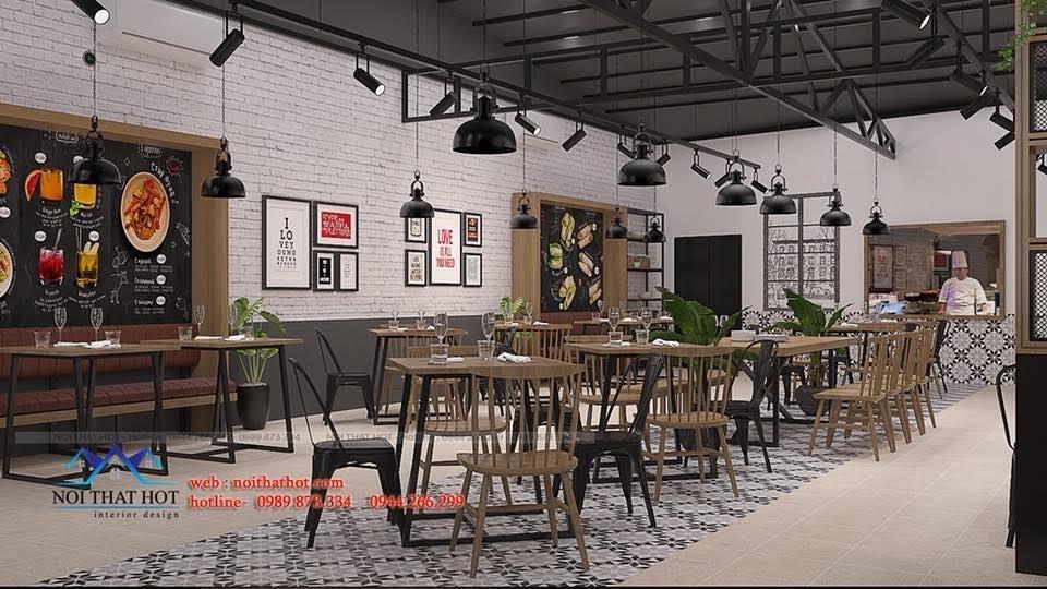 thiết kế nhà hàng bánh tráng 3