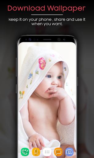 Baby Wallpaper (HD) 1.2 screenshots 1