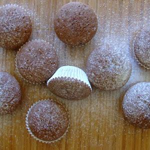 Cocoa and Vanilla Muffins