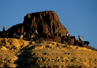 Photo: Horseback Trail rides in unique Big Bend.