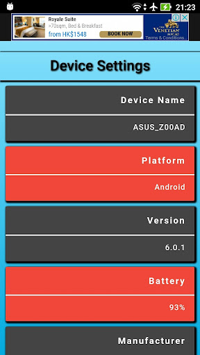 My device settings 4.0.5 screenshots 1