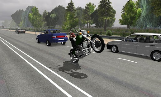 Russian Moto Traffic Rider 3D- screenshot thumbnail