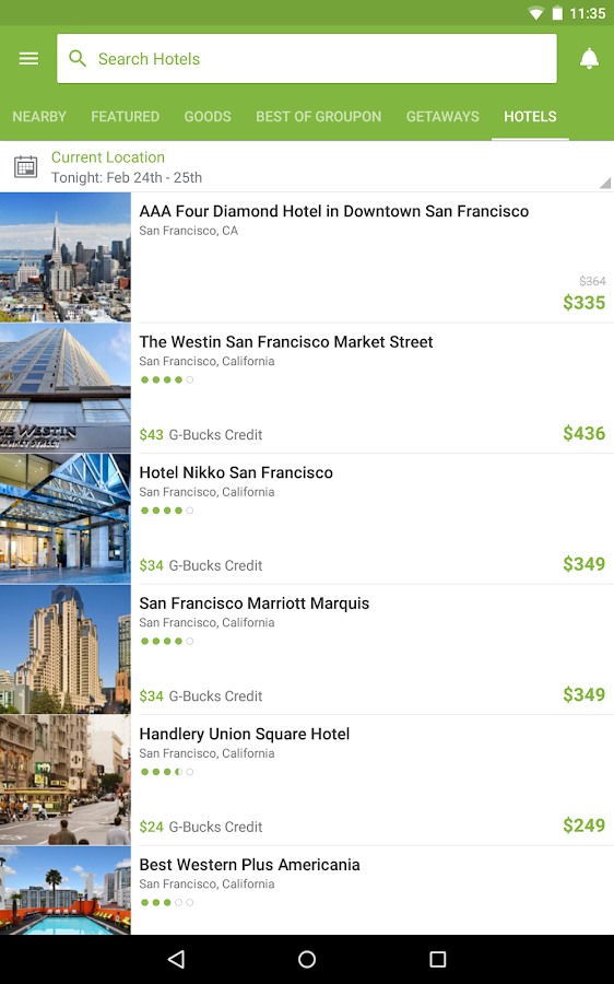 Screenshots of Groupon - Shop Deals & Coupons for iPhone