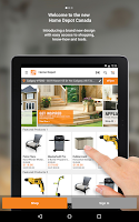 Screenshot of The Home Depot Canada