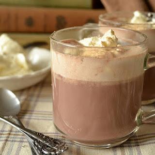 Drinking Chocolate.