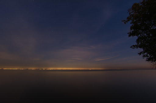 Light Pollution Across Lake Ontario
