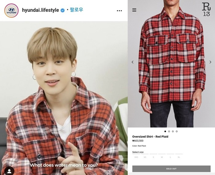 BTS's Jimin Sells Out A $537 Shirt With Just A One Line In A Video | KissAsian