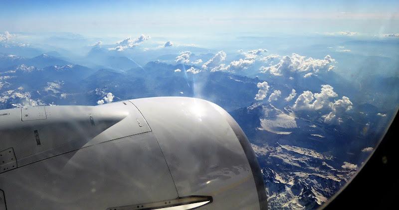 Vista sui monti di Piera