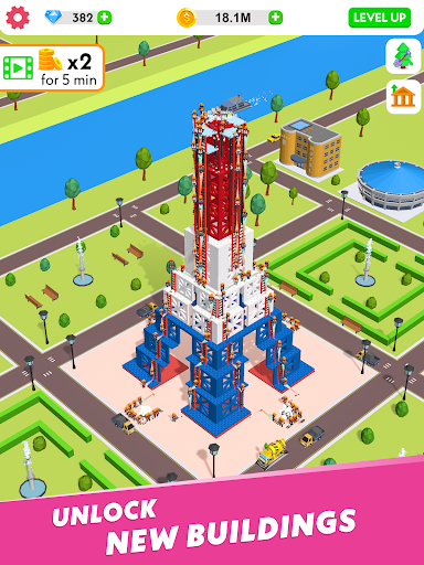Idle Construction 3D screenshot 14