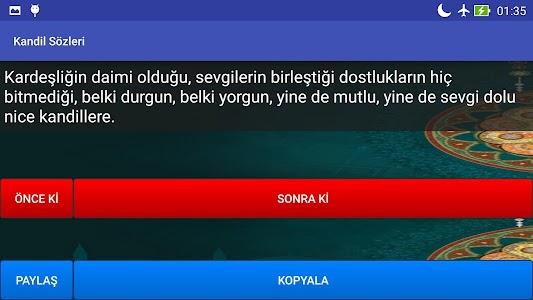Kandil Sözleri screenshot 7