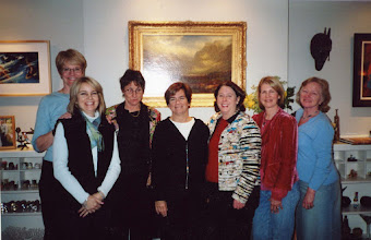 Photo: Mini-reunion of some of the Encinal girls in February of 2007 Ellen Teige, Marci Greene, Karen Hanson, Margie Gough, Shirley Standlee, Gretchen Troster and Alison Bach