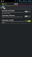 Screenshot of NOS Telefone