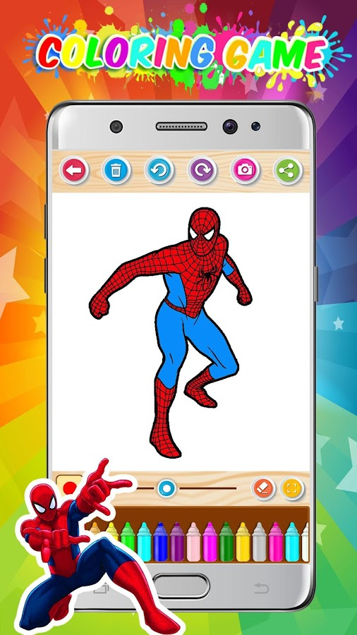 The Amazing Spider-Man Coloring Game 2018 - Android Apps on Google ...