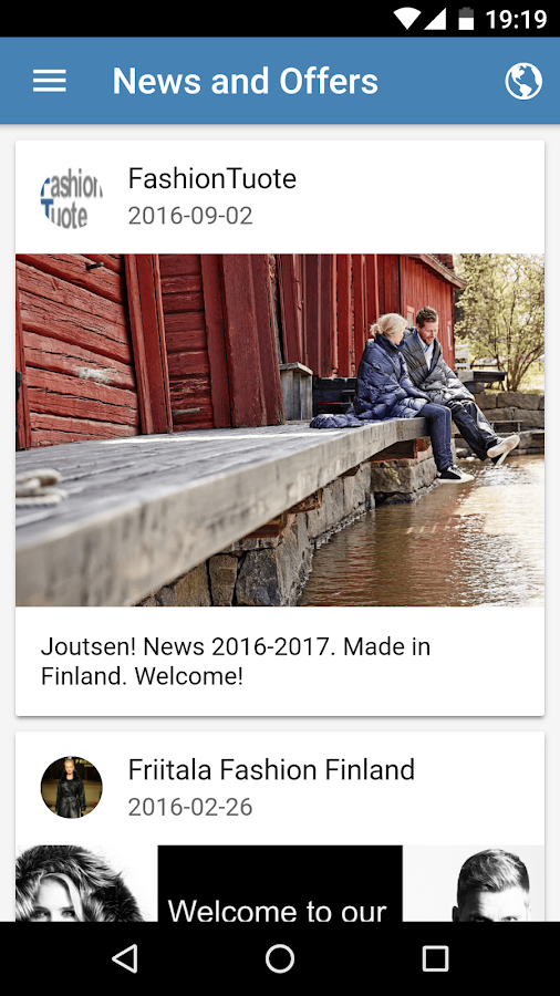 Finland in your palm- screenshot