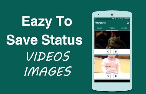 Whatsaver | save media status - náhled