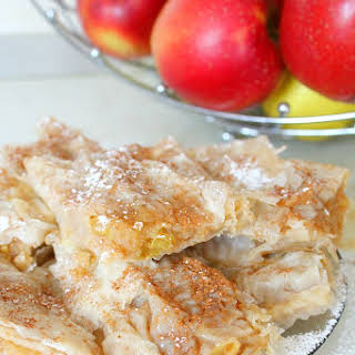 Filo Pastry Apple Pie.