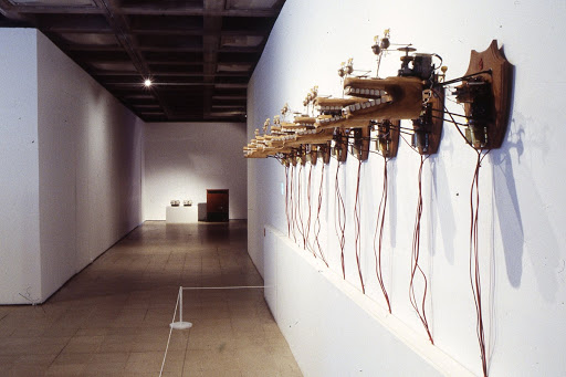 Installation view: Sonic Boom: The Art of Sound, Hayward Gallery, 2000