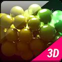 3D Equalizer Bubbles Balls LWP icon