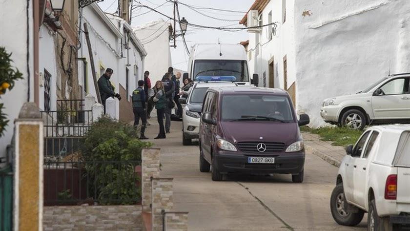 Investigación de la Guardia Civil en El Campillo, Huelva.