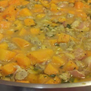Sweet Potato & Sausage Stew