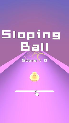 Code Triche Sloping Ball APK MOD (Astuce) screenshots 1