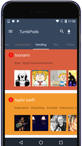 TumbPods - Tumblr Viewer&Video&Photo&Downloader 2.2.2 screenshots 3